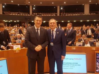 Συγχαρητήρια του προέδρου της ΠΕΔΚΜ στον Α.Τζιτζικώστα, για την εκλογή του στη θέση του προέδρου στην Ευρωπαϊκή Επιτροπή των Περιφερειών και των Δήμων