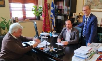 Υπογραφή συμβάσεων προϋπολογισμού 960.000 ευρώ από το Δήμο Βέροιας