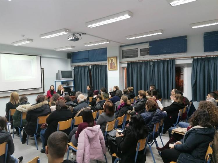 Ενημερωτική εκδήλωση με θέμα «Το άγχος των εξετάσεων και η διαχείρισή του» στη Σχολή Γονέων του ΓΕΛ Μακροχωρίου