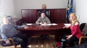 Επίσκεψη της Ένωσης Πολιτών Ημαθίας στο Δήμαρχο Νάουσας