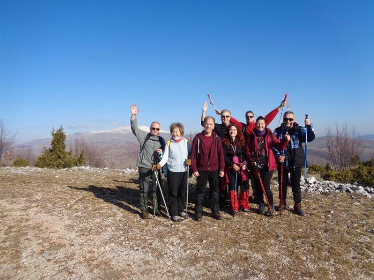 ΟΡΟΣ ΒΕΛΙΑ, κορυφή Γρίβας 1763 μ., Κυριακή 16 Φεβρουαρίου 2020, με τους  Ορειβάτες Βέροιας