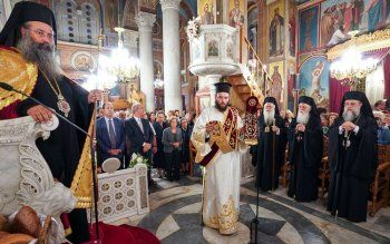Στον εσπερινό του Αγίου Δημητρίου στην Ιερά Μητρόπολη Κηφισίας ο Μητροπολίτης Παντελεήμονας