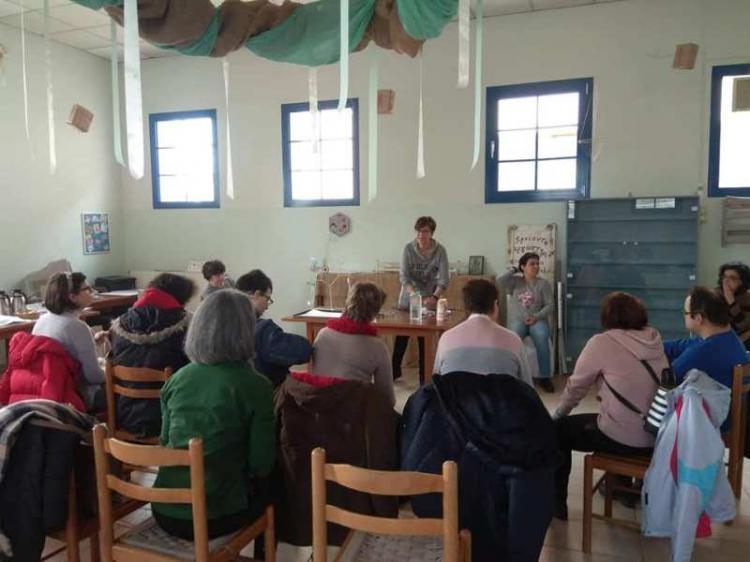Επίσκεψη των Παιδιών της Άνοιξης στο το Κέντρο Ειδικής Αγωγής στην Καλαμαριά
