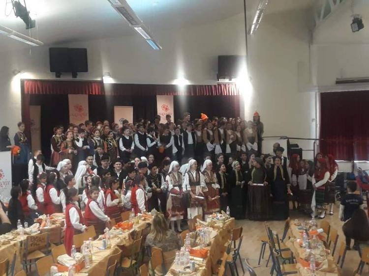Συμμετοχή του εφηβικού τμήματος της Ευξείνου Λέσχης Βέροιας στο «Σαραρίμ» της Καλαμαριάς