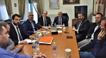 Σύσκεψη με θέμα την επαναλειτουργία του Εργοστασίου της Ελληνικής Βιομηχανίας Ζάχαρης στο Πλατύ