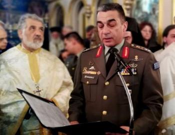 Στρατηγός Κολοκούρης στην εξόδιο ακολουθία του ήρωα Γ.Κατσάνη : «Του ανδρειωμένου ο θάνατος, θάνατος δεν λογάται»