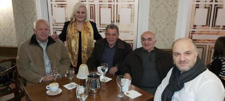 Η «Βέροια ΠΡΩΤεύουσα Πόλη» της Γεωργίας Μπατσαρά έκοψε τη βασιλόπιτα