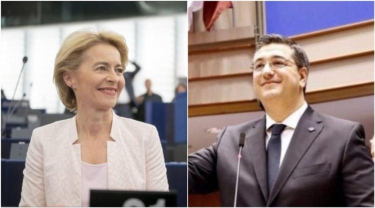 Συγχαρητήρια επιστολή της Προέδρου της Ευρωπαϊκής Επιτροπής στον Απ.Τζιτζικώστα για την εκλογή του στην προεδρία της Επιτροπής των Περιφερειών της ΕΕ