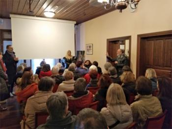 Ο Σύλλογος Βλάχων Βέροιας υποδέχτηκε στο Σπίτι του το Σύλλογο «Odyssee-Periples et Decuvertes»
