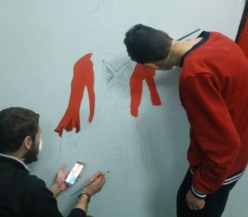 Καλλιτέχνες του Graffiti επισκέφτηκαν τo Ενιαίο Ειδικό Επαγγελματικό Γυμνάσιο – Λύκειο Βέροιας