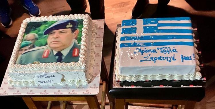 Γεμάτα....Ελλάδα τα γενέθλια του Φράγκου Φραγκούλη!