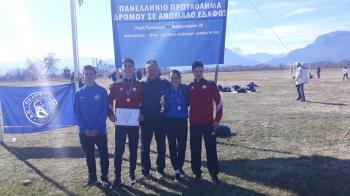 Πρωταθλήτρια νεανίδων η Ιωαννίδου, τρίτος ο Αθανασάκης στον παν/νιο ανώμαλο δρόμο