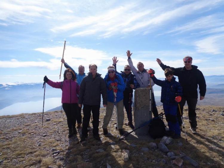 ΒΟΡΡΑΣ, Κορυφή Πιπερίτσα 1998μ., Κυριακή 23 Φεβρουαρίου 2020, με τους Ορειβάτες Βέροιας
