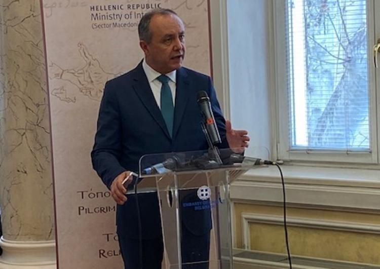 Ο Θ. Καράογλου παρουσίασε τις τουριστικές δυνατότητες της Β. Ελλάδας στη διεθνή έκθεση τουρισμού του Βελιγραδίου