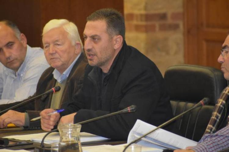 Κ. Βοργιαζίδης στη συνεδρίαση του Δ.Σ. Βέροιας : «Δεν υπάρχει θέμα απόσχισης της Βεργίνας από το Δήμο Βέροιας»