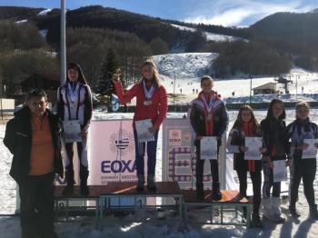 Πολλά μετάλλια για τον ΕΟΣ Νάουσας στο πανελλήνιο Πρωτάθλημα και στο διεθνή αγώνα σκι δρόμων αντοχής στα 3-5 Πηγάδια
