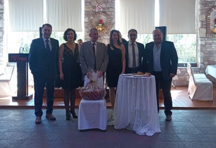 Με μεγάλη επιτυχία η κοπή της ετήσιας βασιλόπιτας της Ομοσπονδίας Εμπορικών Συλλόγων Δυτικής και Κεντρικής Μακεδονίας