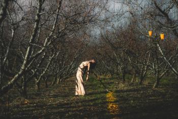 """""""Ανθισμένες ροδακινιές - Johatsu """" σε σκηνοθεσία Χάρη Πεχλιβανίδη από το ΔΗ.ΠΕ.ΘΕ. ΒΕΡΟΙΑΣ με τη στήριξη του Τ.Ο.Β"""
