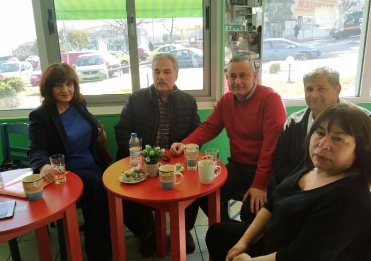 Το νέο Διοικητή, τους εργαζόμενους του Νοσοκομείου Βέροιας και τον ΟΚΑΝΑ επισκέφθηκε η βουλευτής Φρ. Καρασαρλίδου
