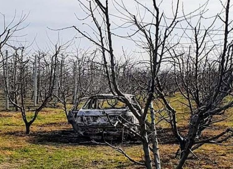 Καμένο βρέθηκε σε αγροτική περιοχή του Αγγελοχωρίου το αυτοκίνητο της διάρρηξης των ΕΛΤΑ Κοπανού!