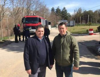 Στις Καστανιές του Έβρου ο Κώστας Καλαϊτζίδης, στο πλευρό των κατοίκων, του στρατού και της αστυνομίας μας