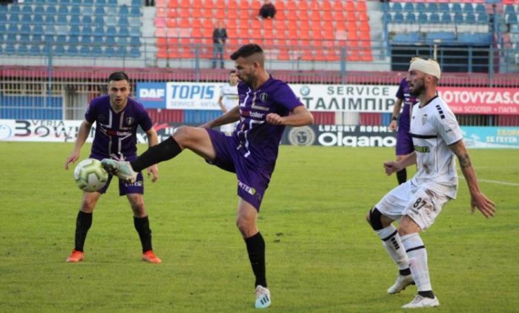 Η ΒΕΡΟΙΑ ηττήθηκε με 2-1 στην έδρα της, από την Ιεράπετρα και απομακρύνθηκε για δεύτερη φορά από τον στόχο της