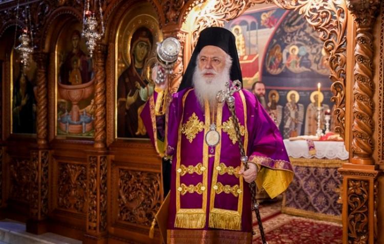 H Πρώτη Προηγιασμένη Θεία Λειτουργία από το Σεβασμιώτατο Μητροπολίτη Βεροίας κ. Παντελεήμονα