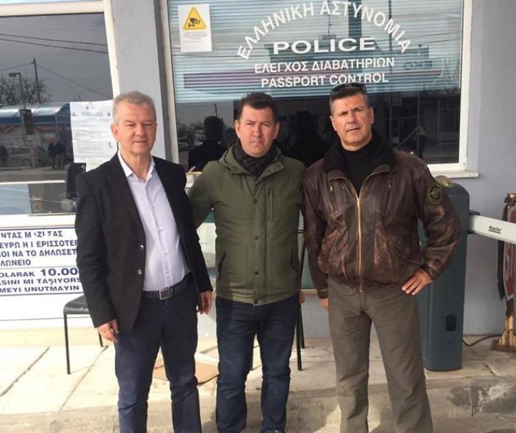 Στο πλευρό των Αστυνομικών και των Ενόπλων μας Δυνάμεων στον Έβρο, η Ένωση Αποστράτων Σωμάτων Ασφαλείας Ημαθίας