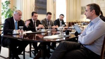 Συνάντηση Μητσοτάκη - Βορίδη: Ηλικιακή ανανέωση, καινοτομία και γνώση, οι προτεραιότητες για τον πρωτογενή τομέα