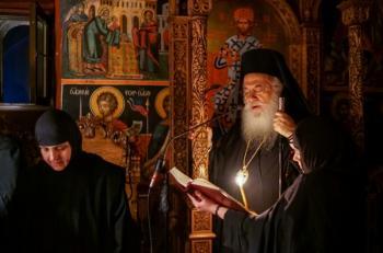 Μέγα Απόδειπνο στην Ιερά Μονή Αγίων Πάντων Βεργίνης