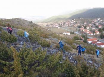 ΒΕΡΜΙΟ, Κορυφή Ιμπιλί 1665μ., Kυριακή  8 Μαρτίου 2020, με τους Ορειβάτες Βέροιας