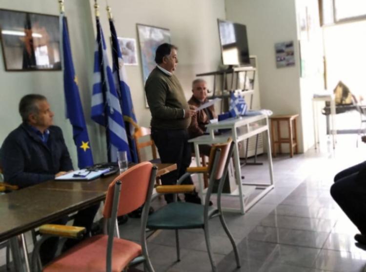 Πραγματοποιήθηκε το Σάββατο 7 Μαρτίου 2020 η ετήσια τακτική Γ.Σ. του Συνδέσμου αποστράτων σωμάτων ασφαλείας Ημαθίας