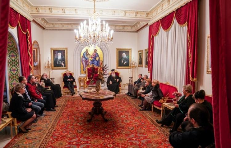 Συνάντηση του Σεβασμιωτάτου με φορείς υγείας ενόψει του κορονοϊού
