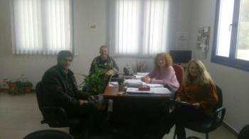 Επίσκεψη αντιπροσωπείας του ΑΣ «Μαρίνος Αντύπας» στο υποκατάστημα του ΕΛΓΑ στη Βέροια