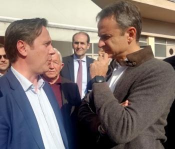 Στην Αθήνα, μέχρι την Παρασκευή, για συναντήσεις στα υπουργεία, ο δήμαρχος Νάουσας, Νικόλας Καρανικόλας