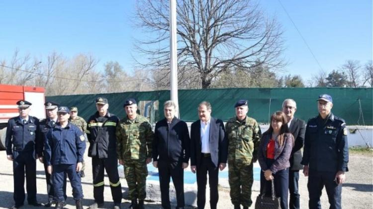 Στον Έβρο ο Μ. Χρυσοχοϊδης με τον επικεφαλής της Frontex