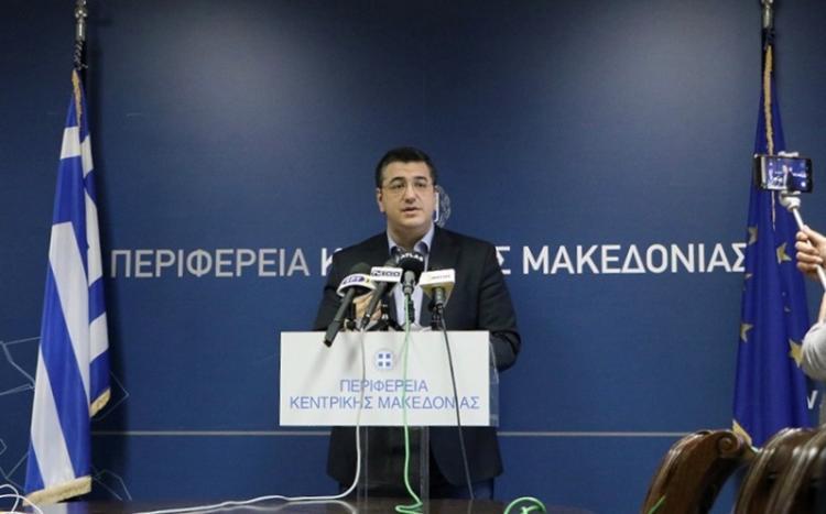Μέτρα για την αντιμετώπιση της πανδημίας του κορονοϊού ανακοίνωσε ο Περιφερειάρχης Κ.Μακεδονίας Απ.Τζιτζικώστας