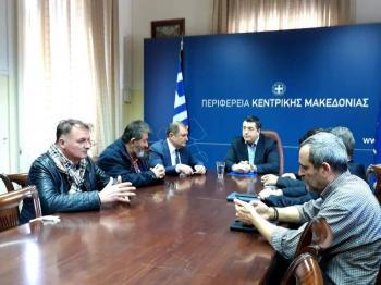 ΠΕΔ-ΚΜ : Σε κοινό βηματισμό με την Π.Κ.Μ. για την αντιμετώπιση της εξάπλωσης της πανδημίας του κορονοϊού
