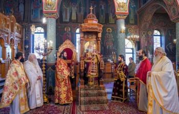 Αρχιερατική Θεία Λειτουργία και Μνημόσυνο για τα θύματα του Ολοκαυτώματος του Νησίου Ημαθίας