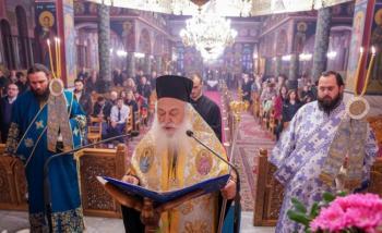 Β' Στάση των Χαιρετισμών της Υπεραγίας Θεοτόκου από το Σεβασμιώτατο στην Αλεξάνδρεια
