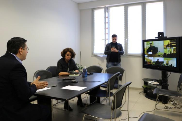 Τηλεδιάσκεψη του Περιφερειάρχη Κ.Μακεδονίας Απ.Τζιτζικώστα με τους Αντιπεριφερειάρχες και έλεγχος εφαρμογής των μέτρων για την πανδημία του κορονοϊού