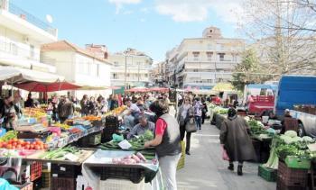 Συστάσεις του Δήμου Βέροιας προς τους πολίτες για την παρουσία τους στις λαϊκές αγορές