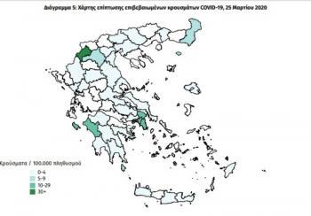 Χωρίς άλλο κρούσμα κορονοϊού η Ημαθία, σύμφωνα με τον Εθνικό Οργανισμό Δημόσιας Υγείας