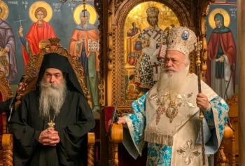 Εορτασμός του Ευαγγελισμού της Υπεραγίας Θεοτόκου στην ιστορική Ιερά Μονή της Παναγίας Δοβρά Βεροίας