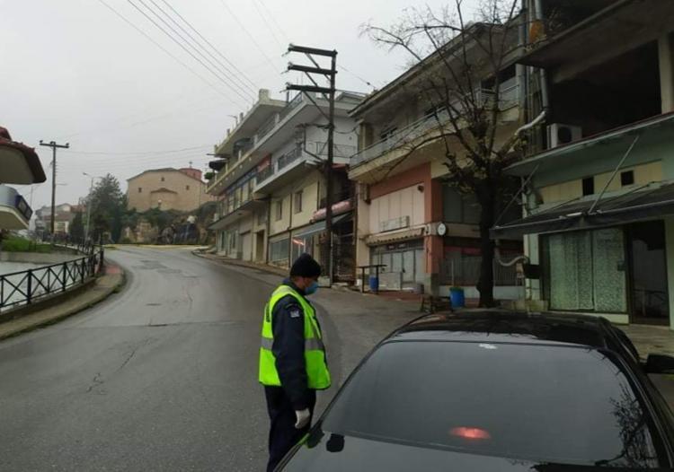 Με αμείωτο ρυθμό οι έλεγχοι της ΕΛ.ΑΣ. για την τήρηση των όρων περιορισμού της κυκλοφορίας στην Ημαθία