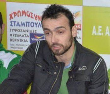 Δήλωση του Γ.Ντάμτσιου, προπονητή του Μ. Αλέξανδρου Τρικάλων