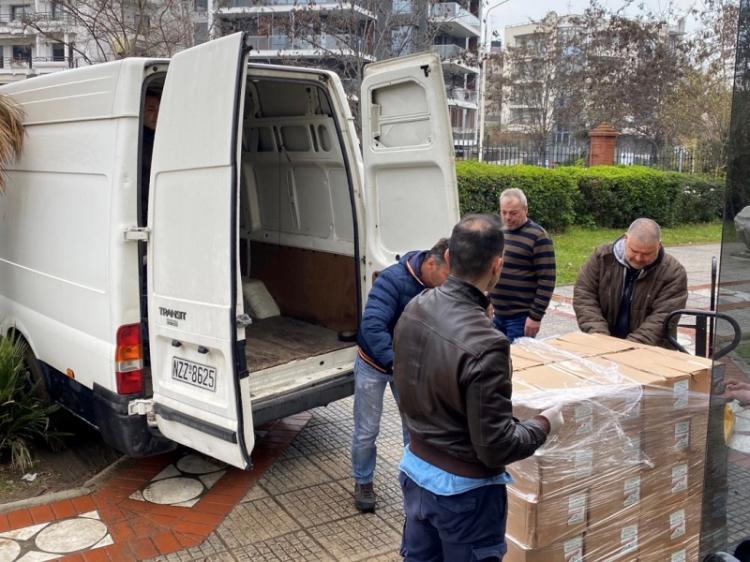 Η Περιφέρεια Κεντρικής Μακεδονίας παρέδωσε είδη ατομικής προστασίας και υγιεινής σε ΕΛΑΣ, Πυροσβεστική και Λιμενικό