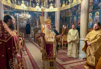 Ε΄ Κυριακή των Νηστειών στην Ιερά Μονή Παναγίας Δοβρά Βεροίας