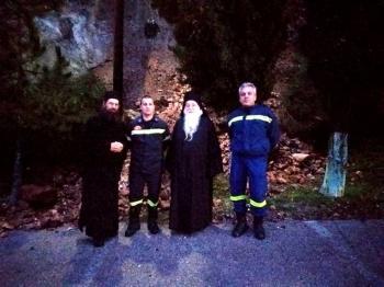 Και πάλι κατολισθήσεις στο Μοναστήρι του Προδρόμου, Σκήτης Βέροιας!
