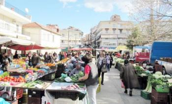 Νέες ρυθμίσεις για τη λειτουργία των λαϊκών αγορών του Δήμου Βέροιας λόγω κορωνοϊού covid 19